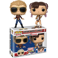 Marvel Vs. Capcom - Captain Marvel vs Chun-Li Pop! Vinyl Figure 2-Pack