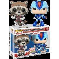 Marvel vs Capcom - Rocket vs Mega Man X Pop! Vinyl Figure 2-Pack