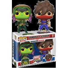 Marvel Vs. Capcom - Gamora vs Strider Pop! Vinyl Figure 2-Pack