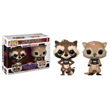 Guardians of the Galaxy: The Telltale Series - Rocket and Lylla 2-pack Pop! Vinyl Figures