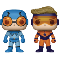 DC Comics - Blue Beetle and Booster Gold Pop! Vinyl 2-Pack