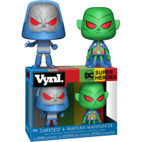 DC Comics - Martian Manhunter and Darkseid Vynl. Vinyl Figure 2-Pack