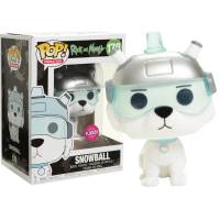 Rick and Morty - Snowball Flocked Pop! Vinyl Figure
