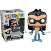 Teen Titans Go! - Robin as Nightwing with Baby Pop! Vinyl Figure