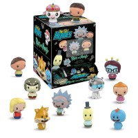 Rick and Morty - Pint Size Heroes Blind Bag Gravity Feed Display (24 Units)