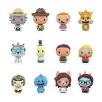 Rick and Morty - Pint Size Heroes TARGET Exclusive Blind Bag Gravity Feed Display (24 Units)