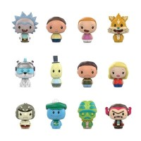 Rick and Morty - Pint Size Heroes TRU Exclusive Blind Bag Gravity Feed Display (24 Units)