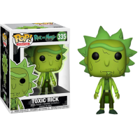 Rick and Morty - Toxic Rick Pop! Vinyl Figure