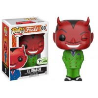 Spastik Plastik - El Diablo in Green Suit Pop! Vinyl Figure (2017 Emerald City Comicon Exclusive)