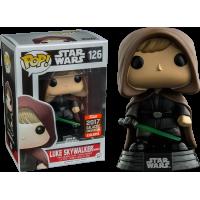 Star Wars - Luke Skywalker Hooded Jedi Pop! Vinyl Figure (2017 Celebrations Exclusive)