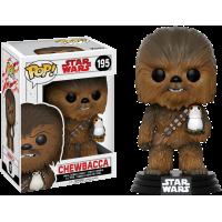 Star Wars Episode VIII: The Last Jedi - Chewbacca with Porg Pop! Vinyl Figure