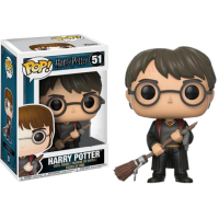 Harry Potter - Harry Potter with Firebolt Pop! Vinyl Figure