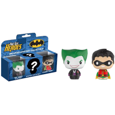 Batman - The Joker, Robin and Mystery Pint Size Heroes 3-Pack