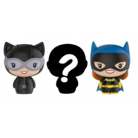 DC Comics - Women of DC Catwoman, Batgirl and Mystery Pint Size Heroes 3-Pack