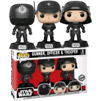 Star Wars - Death Star Gunner, Officer and Trooper Pop! Vinyl Figure 3-Pack