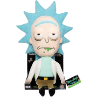 Rick and Morty - Rick 16 Inch Plush with Tray