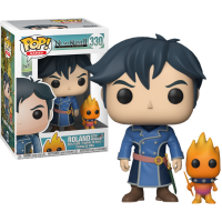 Ni No Kuni 2: Revenant Kingdom - Roland with Higgledy Pop! Vinyl Figure