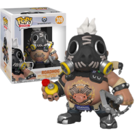 Overwatch - Roadhog 6 Inch Super Sized Pop! Vinyl Figure
