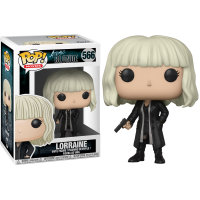 Atomic Blonde - Lorraine with Gun Pop! Vinyl Figure