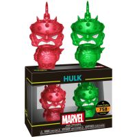 Thor 3: Ragnarok - Gladiator Hulk Red and Green XS Hikari Vinyl Figure 2-Pack