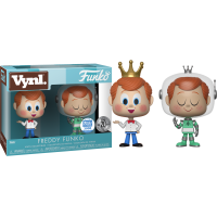 Freddy Funko - Pink Cheeked and Spacesuit Freddy 2 Pack Vinyl. Figure