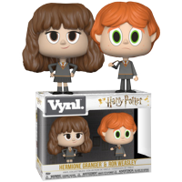 Harry Potter - Hermione and Ron with Broken Wand Vynl. Vinyl Figure 2-Pack