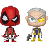 Deadpool - Deadpool and Cable Vynl. Vinyl Figure 2-Pack