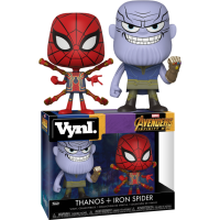 Avengers 3: Infinity War - Thanos and Iron Spider Vynl. Vinyl Figure 2-Pack