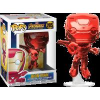Avengers 3: Infinity War - Iron Man Flying Red Chrome Pop! Vinyl Figure