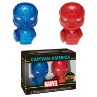 Captain America - Captain America (Red and Blue) XS Hikari 2-pack