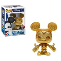Mickey Mouse - Mickey Mouse Gold Diamond Glitter Pop! Vinyl Figure