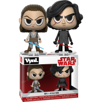 Star Wars Episode VIII: The Last Jedi - Rey and Kylo Ren Vynl Vinyl Figure 2-pack