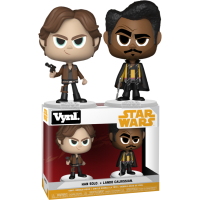 Star Wars: Solo - Han Solo and Lando Calrissian Vynl. Vinyl Figure 2-Pack