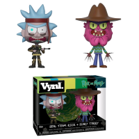 Rick and Morty - SEAL Rick and Scary Terry Vynl. Vinyl Figure 2-Pack