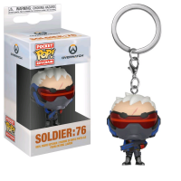 Overwatch - Soldier: 76 Pocket Pop! Vinyl Keychain
