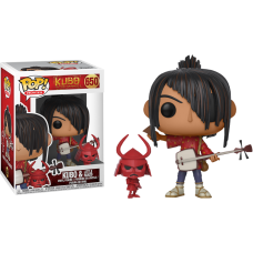 Kubo And The Two Strings - Kubo with Little Hanzo Pop! Vinyl Figure