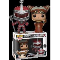 Power Rangers - Rita Repulsa and Lord Zedd Pop! Vinly Figure 2-Pack