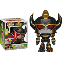 Power Rangers - Megazord 6 Inch Super Sized Black and Gold Pop! Vinyl Figure