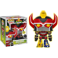 Power Rangers - Megazord 6 inch Super Sized Glow in the Dark Pop! Vinyl Figure
