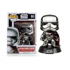 Star Wars Episode VII: The Force Awakens - Chrome Captain Phasma Pop! Vinyl Figure