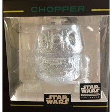 Star Wars - Clear Chopper XS Hikari Vinyl Figure (Sumggler's Bounty Exclusive)