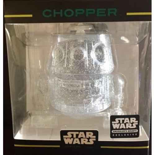Star Wars - Clear Chopper XS Hikari Vinyl Figure (Sumggler's Bounty Exclusive)