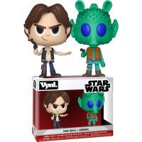 Star Wars - Han Solo and Greedo Vynl. Vinyl Figure 2-Pack
