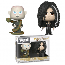 Harry Potter - Lord Voldemort and Bellatrix Lestrange Vynl. Vinyl Figure 2-Pack