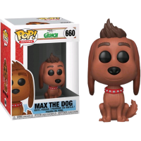 The Gr Inch (2018) - Max the Dog Pop! Vinyl Figure