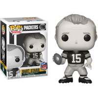 NFL Legends - Bart Starr Green Bay Packers Black and White Legends Pop! Vinyl Figure