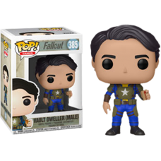 Fallout - Vault Dweller Male with Mentats Pop! Vinyl Figure