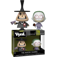 The Nightmare Before Christmas - The Mayor and Barrel Vynl. Vinyl Figure 2-Pack