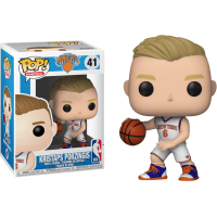 NBA Basketball - Kristaps Porzingis New York Knicks Pop! Vinyl Figure