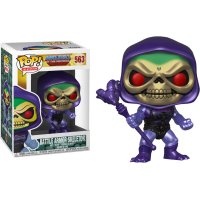 Masters of the Universe - Battle Armor Skeletor Metallic Pop! Vinyl Figure